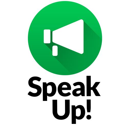 「アンケートに回答してポイントゲット!」Speak Up!