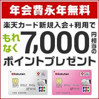 楽天カード(楽天カード/楽天ピンクカード)